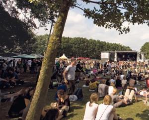 Party im Freien: Das Haldern Pop-Festival findet vom 13. bis 18. August statt.