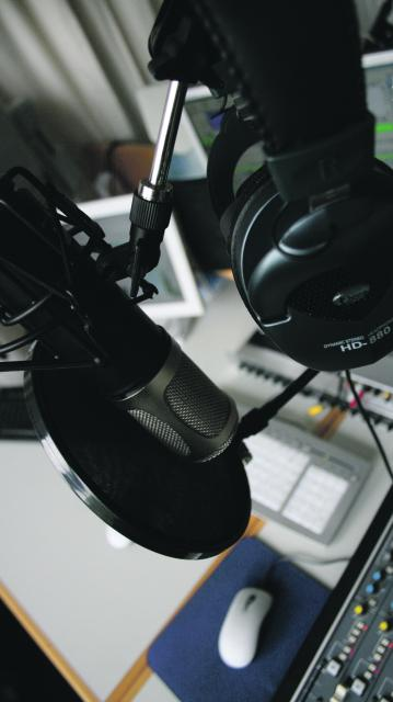 20 junge Radiomacher sorgen für die richtige Mischung aus Musik- und Wortbeiträgen. Foto: CampusFM