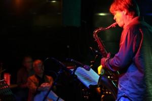 Ein Saxophon darf auf einer Jazz-Bühne natürlich nicht fehlen. Fotos (11): Elene Sansigre