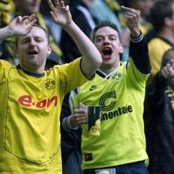 Schadenfreude bei den BVB Fans: Für die unterlegenen Bielefelder haben sie kein Mitleid