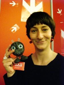 Anne Walther und ihr Hauptdarsteller, Publikumsliebling Ferdi. Foto: Susanna Zdrzalek