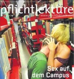 """pflichtlektüre-Titel """"Sex auf dem Campus"""" vom 27. Oktober 2009"""