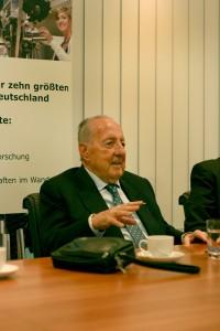 Peter Scholl-Latour. Foto: J. Mueller-Töwe