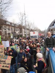 """Proteste bei der KMK.  """"Es hat was gebracht"""", so ist der Tenor in der Presse. Foto: Stephanie Feck"""