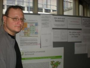 Wirtschaftsmathematiker Matthias Proft ist mit dem Ergebnis der Veranstaltung zufrieden. Bild: Martina Vogt