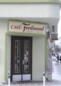 Am 31.12 musste auch das Cafe Ferdinand seine Türen dicht machen. Foto: Liuns Petrusch
