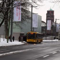 Neubau mit Blick von der Bismarkstraße (Fotos: Lasse Otterbeck)