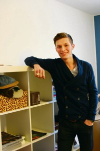 Zog der Kultur wegen her: Der Karlsruher Matthias Lempart
