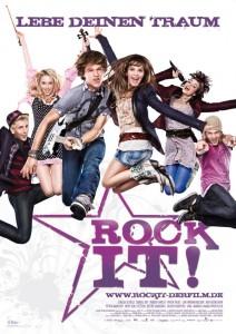 """Alles andere als klassisch? Das Filmplakat zu """"Rock it!"""""""