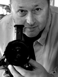 """Der Bochumer Filmemacher Christoph Böll präsentierte in der Unibib der RUB erstmalig Ausschnitte aus seinem Filmprojekt """"Sehenden Auges"""", in dessen Mittelpunkt der Kunsthistoriker Max Imdahl (1925-1988) steht."""