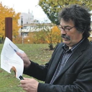 Statistik-Professor Walter Krämer fackelte im Herbst einen Bachelor-Schein ab.