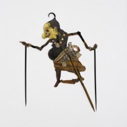 Nach Jahren im Depot wird diese Schattenfigur von den Javainseln im außereuropäischen Teil der Ausstellung gezeigt.
