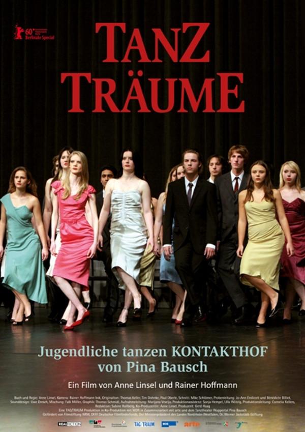 """Das Filmplakat zu """"Tanzträume - Jugendliche tanzen Kontakthof von Pina Bausch"""". Foto: realfictionfilme"""