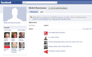 Nicht wirklich ausführlich: Bärbel Beuermanns Profil bei Facebook.