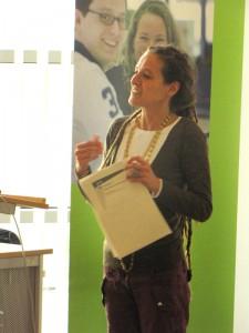 Podiumsdiskussion RUB: Referentin Alessandra Rusconi II