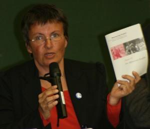 """Kathrin Vogler von den Linken: """"Raus aus Afghanistan!"""""""