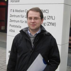 Schülerstudent Arthur Dziuba