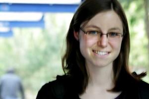 Politikmanagement-Studentin Judith war von Stefan Aust begeistert. Foto: Ann-Kathrin Gumpert