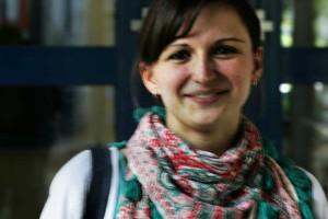 Politikmanagement-Studentin Katharina