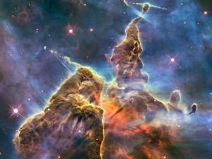 Reise in die Weiten des Universums. Im Carina-Nebel werden neue Sterne geboren. Foto: NASA
