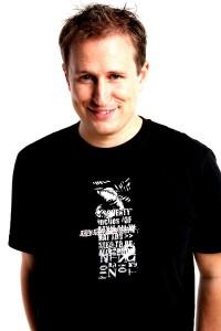 1Live-Moderator Olli Briesch. Foto: PR