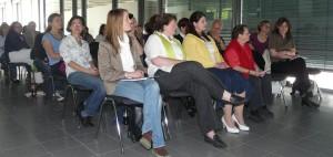 40 Frauen ließen sich über aktuelle Entwicklungen und Angebote informieren.