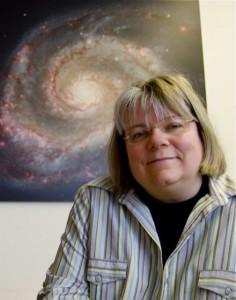 Planteraiums-Chefin Susanne Hüttemeister. Als Astronomie-Professorin erforscht sie Galaxien. Foto: Jonathan Focke
