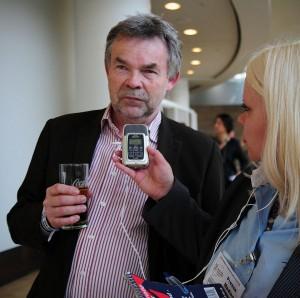 WDR-Hörfunk-Moderator Manfred Breuckmann