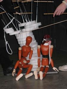 Marionetten sind die Hauptfiguren bei dem Studentenprojekt