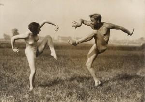 Gerhard Riebicke, Paar beim Ausdruckstanz, um 1930 © Bodo Niemann und Münchner Stadtmuseum