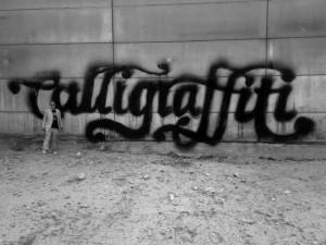 Niels *Shoe* Meulman vereint Kalligrafie und Graffiti / Foto:Concrete Playground