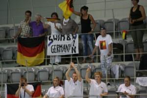 Fans bei Gehörlosen-EM