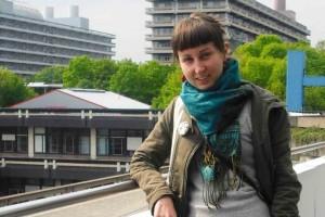 Dorija Petrick leitet das Internationale Videofestival Bochum. Foto: Natallia Navato