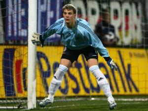 Der deutsche Keeper in Aktion: Manuel Neuer. Foto: manuel-neuer.de