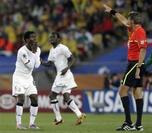 """Mit einem Sieg gegen Deutschland stehen die """"Black Stars"""" im Achtelfinale. Foto: GFA"""