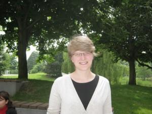 Ist Köhler ein Grüß-August? TU-Studentin Maren. Foto: Alina Schwermer.