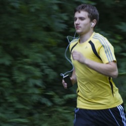 """""""Runtastic"""" verspricht effizientes Training. Foto:  S.Zoche"""