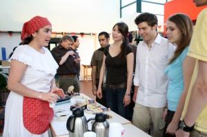 Eine lateinamerikanische Kaffeeveköstigung