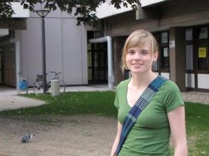 Nina Wolf von den Grünen ist die große Siegerin der StuPa-Wahl. Foto: Kerstin Börß
