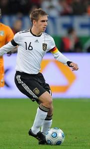 Ein gutes Omen: Philipp Lahm als Verteidiger und Kapitän. Foto: philipplahm.de