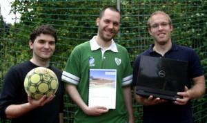 Jan, Erik und Philip wissen jetzt schon, wie die WM ausgeht / Foto: C.Hahn