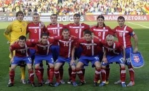 """""""Es könnte mit einem Sieg für Serbien klappen."""" Foto: Serbischer Fußballverband"""