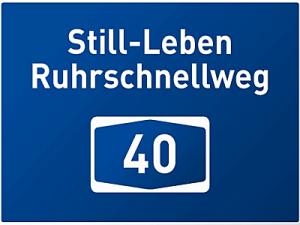 Wenn die Autobahn keine Autobahn mehr ist. Foto: Grafik Ruhr 2010.