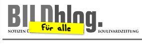 """Zuerst nur der """"Bild"""" gewidmet, wacht das Bildblog seit April 2009 über alle Medien. Screenshot: bildblog.de"""
