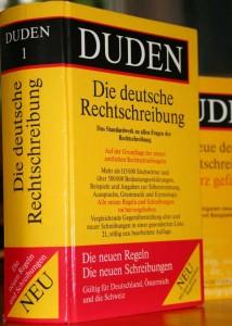 Duden, deutsche Rechtschreibung. Foto: Anna Hückelheim
