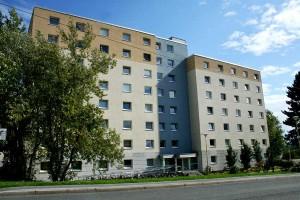 n der Emil-Figge-Str. 3, 7 und 9 befinden sich Einzelappartements. Foto: Mareike Maack
