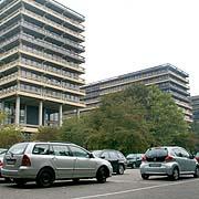 G-Gebäudereihe an der Ruhr-Uni