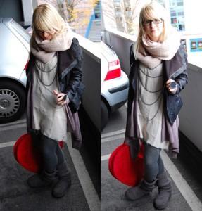 Ein typischer Outfit-Post auf fashionpuppe.com
