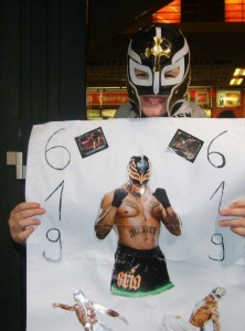 Rey Mysterio begeistert vor allem junge Wrestlingfans. Foto: Tino Perlick