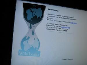 Wikileaks ist derzeit nicht verfügbar. Trotzdem ist die Seite derzeit in aller Munde. Foto: Gerd Altmann/pixelio.de